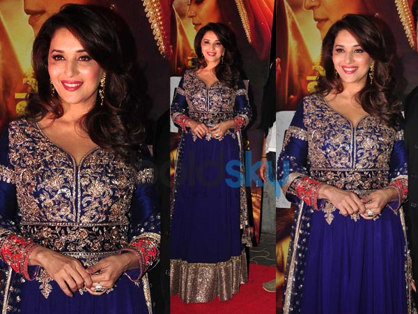 Manish Malhotra Anarkali 2014 Madhuri Dixit In Anarkali Suit