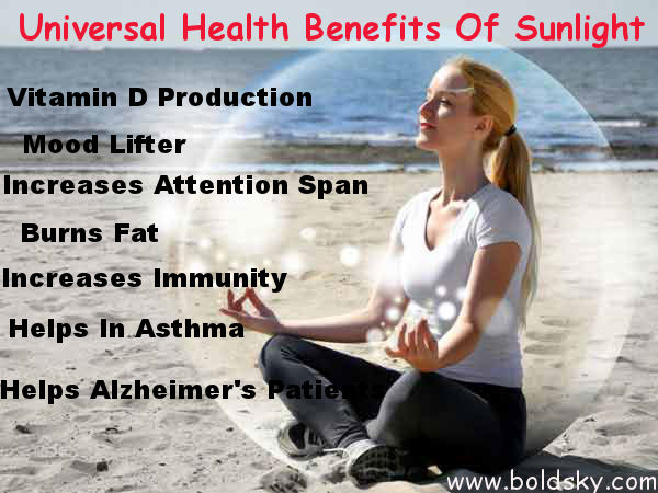 Reasons Why Sunlight Is Good For Health