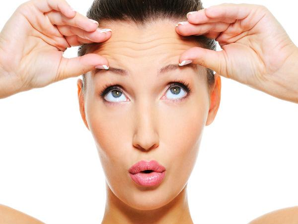 Simple Ways To Get Rid Of Forehead Wrinkles At Home