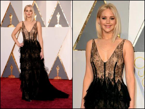 Jennifer Lawrence In Dior Gown