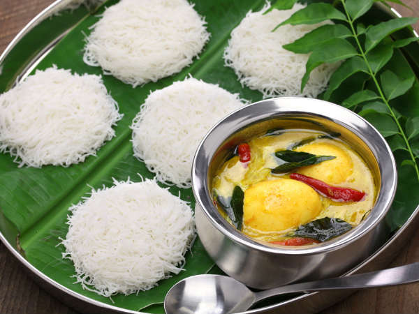 Coconut milk egg curry