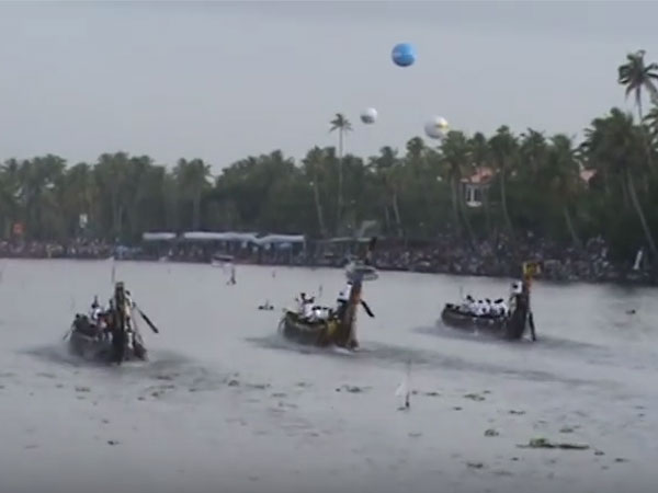 Aranmula snake boat race and Valla sadya