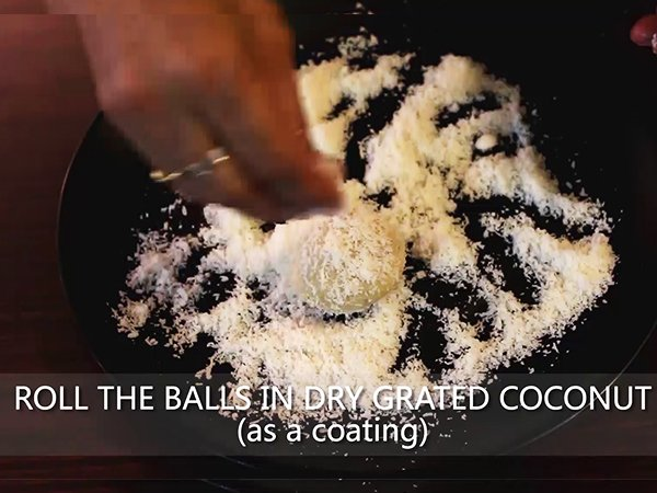 coconut ladoo recipe