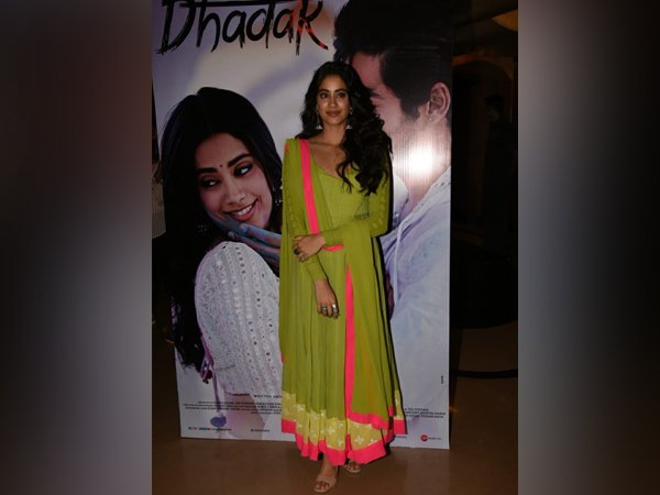 Janhvi Kapoor Ups Her Traditional Game At Dhadak Trailer Launch