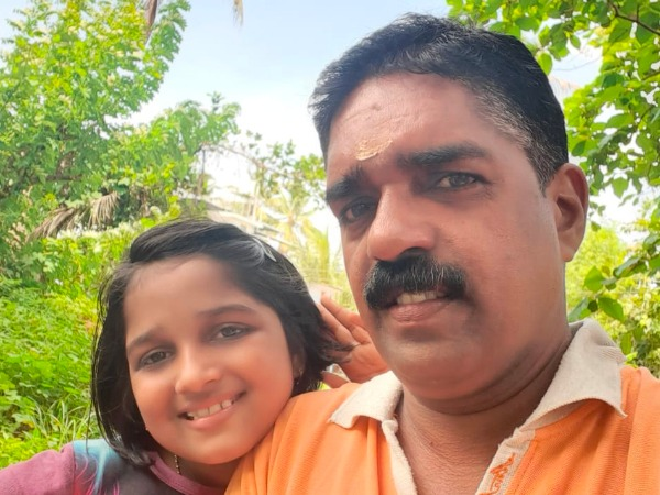 Fathers Day Special Contest Story Of Sarga Ajith From Kannur