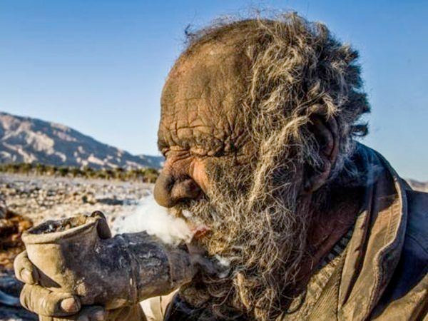 Worlds Dirtiest Man Has Not Bathed For 67 Years