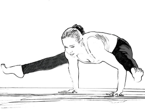 Tittibhasana Firefly Pose For Strengthening Arms Wr