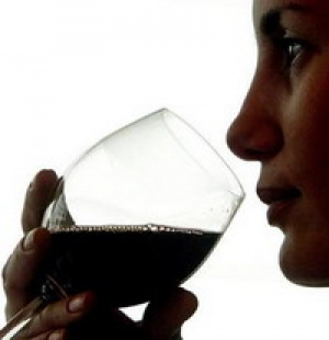 Young Women Drinking To Attract Men