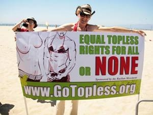 Raelians Declares Aug 21 Go Topless Day Aid