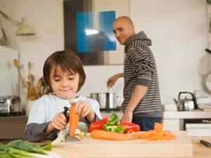Simple Tips Dad Cooking Kid Aid