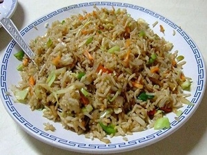 Chinese Fried Rice Recipe Aid