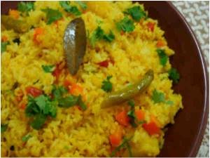 Vegetable Pulao Recipe Aid