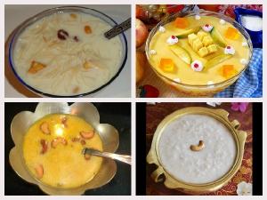 Different Type Vishu Payasam