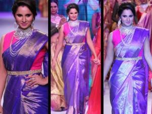 Iijw 2015 Sania Mirza Show Stopper Mony Agarwal