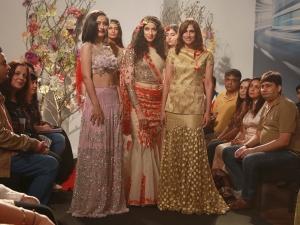 Ibfw 2015 Akshara Haasan Tunes Bride Reena Dhaka