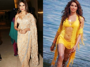 Celebrity Styles Both Bikini As Well As Saree