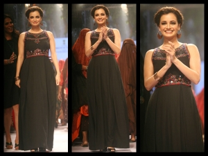 Lfw 2015 Winter Festive Dia Mirza Anita Dongre Collection