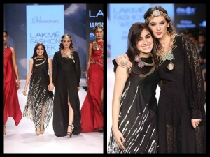 Lfw 2015 Winter Festive Vasundhara Models Dripping Gold