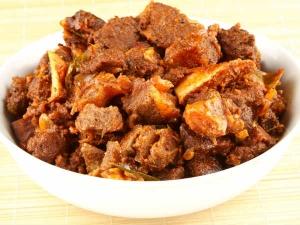 Chettinadu Style Mutton Fry
