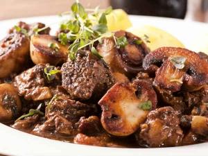Varutharacha Mushroom Curry
