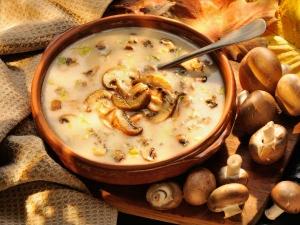 Mushroom Pepper Soup Recipe