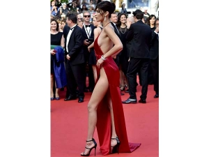 Thig High Slit Sporting Celebrities At Cannes