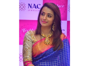 Trisha At Nac Necklace Mela Launch