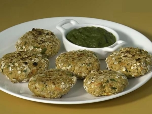 Easy Oats Tikki Recipe