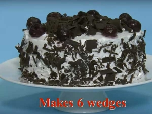 Mouth Watering Black Forest Cake Recipe Christmas