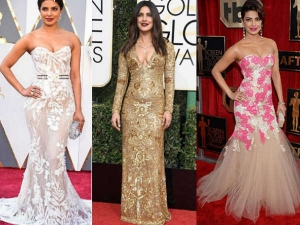 Priyanka Chopra Red Carpet Lookbooks Over The Years