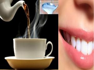 Mix This Tea Get White Teeth