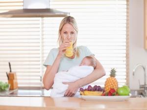 Seven Super Foods For New Moms