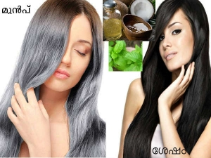 Use Coconut Oil This Way Reverse Grey Hair