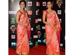 Alia Bhatt Wearing Saree Is The Best Farewell Look You Can Get