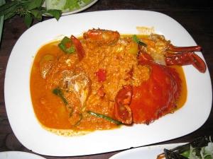 Traditional Kerala Crab Curry Or Nadan Njandu Curry