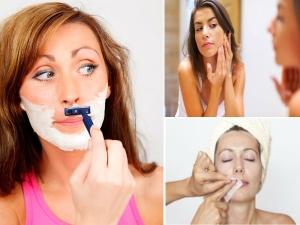 Home Remedies Remove Facial Hair Woman