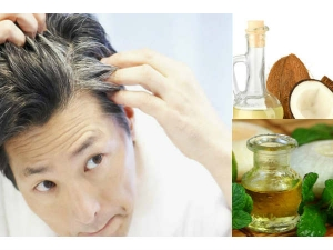 How Reverse Grey Hair Black Using Coconut Oil