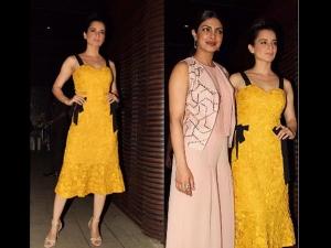 Priyanka Chopra Success Bash Kangana Ranaut Turns Heads