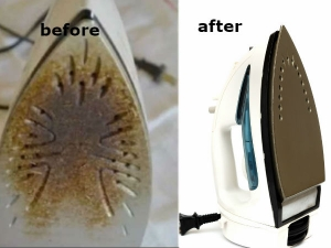How To Clean Iron Box That Has Burnt Fabric