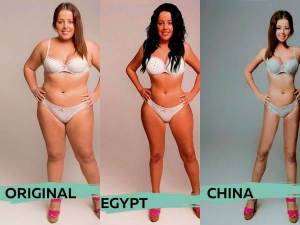 How Women Look Beautiful Different Countries