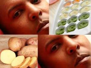 Amazing Home Made Potato Ice Cubes Tricks To Remove Dark Spots On Face