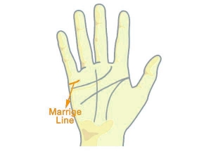 What Does The Marriage Line Your Palm Indicates