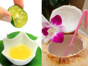 How To Make Lemon Coconut Water Face Toner At Home