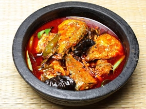Fried Mackerel Curry Recipe