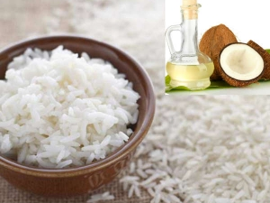 Health Benefits Cooking Rice With Coconut Oil