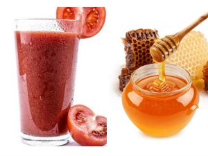 Health Benefits Drinking Honey Mixed Tomato Juice