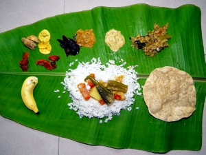 Difference Onam Dishes Different Parts Kerala
