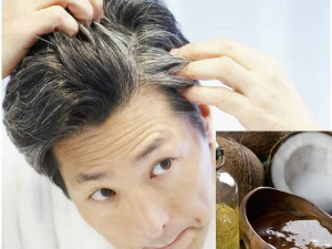 Home Remedies Using Coconut Oil Grey Hair