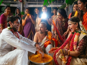 Chaisam Marriage Chaitanya Samantha S Wedding Looks Stunned