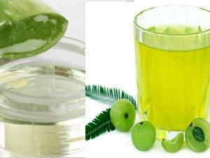 Health Benefits Drinking Aloe Vera Amla Juice